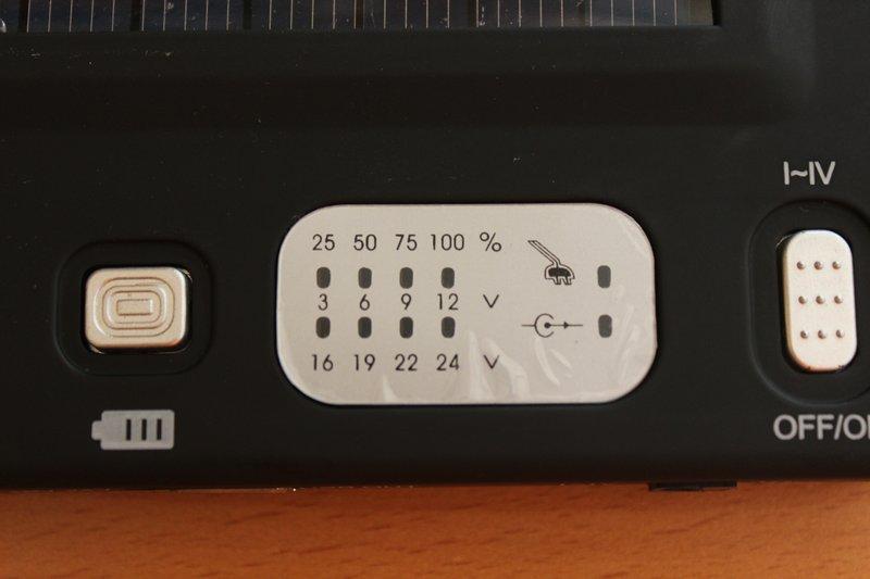 Chinavision Ladespannung Display