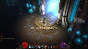 Diablo III Heiliges Sanktum