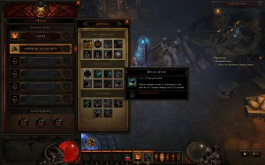 Diablo III Schnellwahl