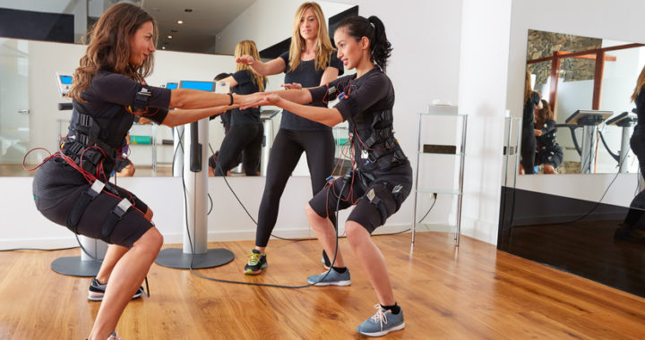 EMS-Training mit Frauen