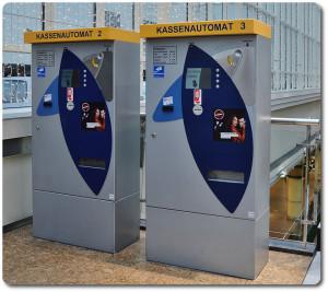 Kassenautomat Parkhaus