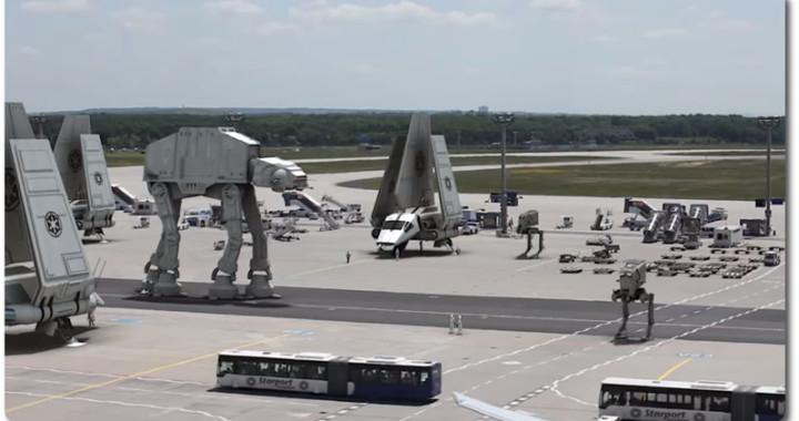 Star Wars Episode VII Frankfurter Flughafen