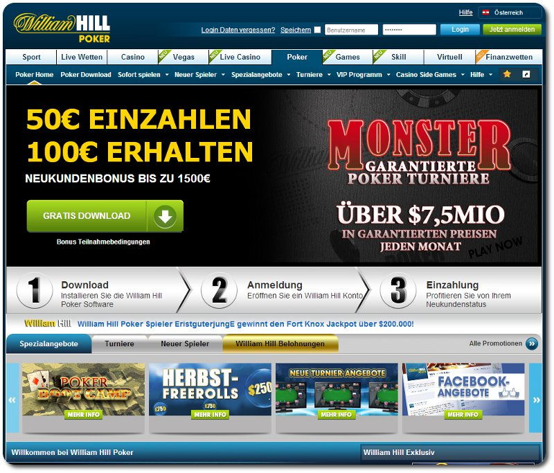 William Hilll Poker