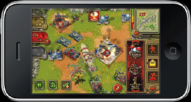Command & Conquer Red Alert für das iPhone